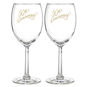 50th Anniversary Wine Glasses